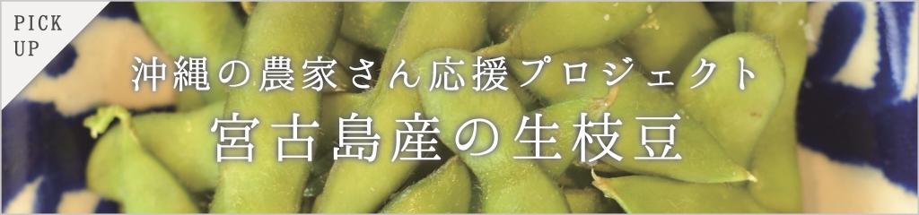 宮古島の農家さんがつくった枝豆